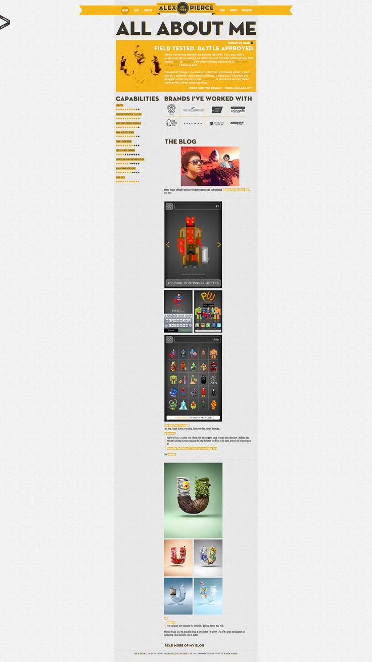 Alex Pierce - Portfolio Website