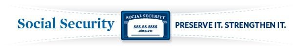 ROMNEY ON SOCIAL SECURITY:  With just two simple steps, and no change in benefits for those at or near retirement, America can guarantee the preservation of the Social Security system for the foreseeable future.