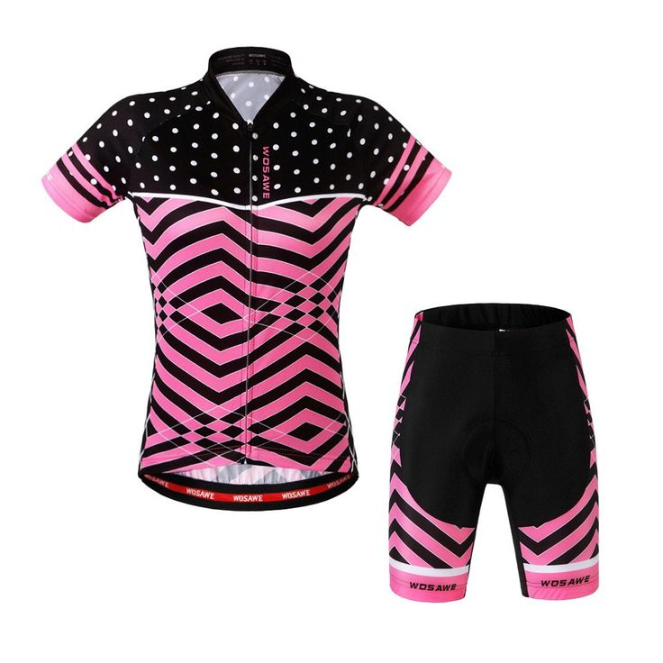 Check out these super slick women's cycling sets