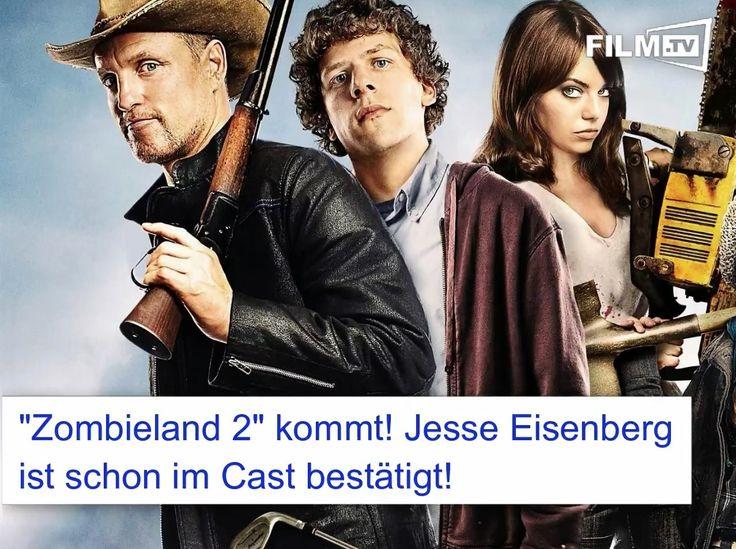 Der lustige Horrorfilm ever kriegt ne Fortsetzung:  #Zombieland 2 mit Jesse Eisenberg kommt! https://www.film.tv/nachrichten/2016/zombieland-2-mit-jesse-eisenberg-34597.html