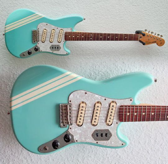 13 best guitar project images on pinterest guitars bass guitars inspo fender cyclone ii rare early 00s mustangstratjaguar hybrid freerunsca Image collections