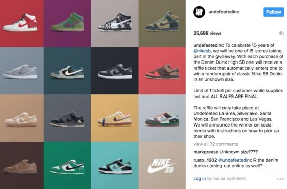 Skateshops And Nike SB Will Celebrate 15 Years Of The Nike SB Dunk With Huge Raffle Event