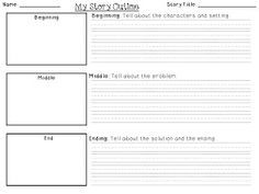 Novel Outline Template Viewing Gallery   You Should be Writing