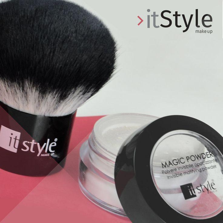 "Poudre magique #itstylemakeup ""Poudre matifiante Invisible""  #cosmetics"