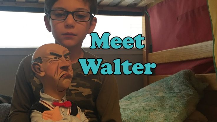 Meet Walter - Jeff Dunham Puppet - Talking Doll