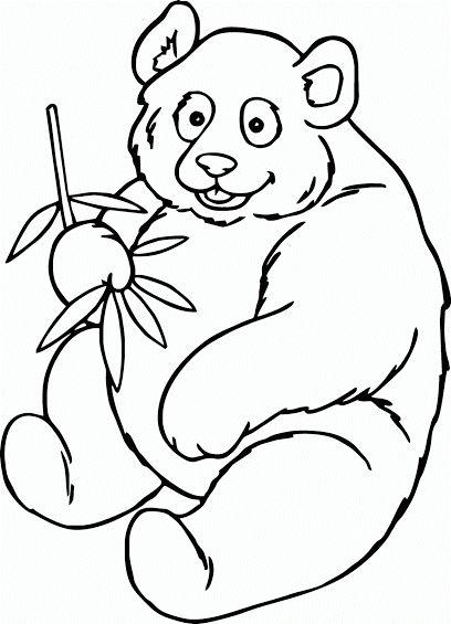 Mewarnai-Gambar-Panda.gif (408×565)