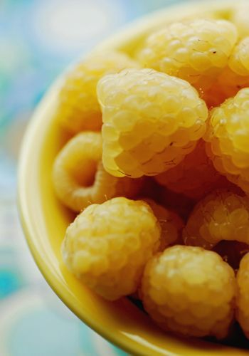 Have you ever had #yellow raspberries? #food