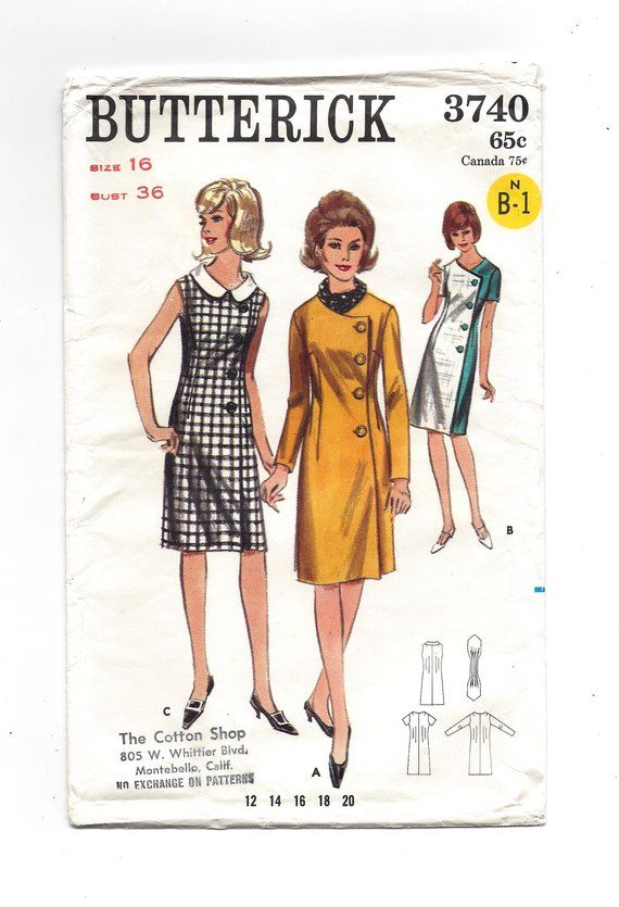 Simplicity 2651 COMPLETE Vintage Sewing Pattern for Juniors Dress /& Jumper with 2 Skirts Bust 33