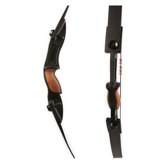 Takedown Recurve Bow Archery Longbow 25-30lb Outdoor Bear Hunting Fiberglass Kit