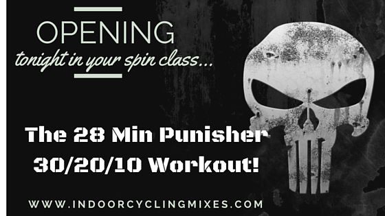 Spin Class Drill: The PUNISHER 28 MIN HITT Routine