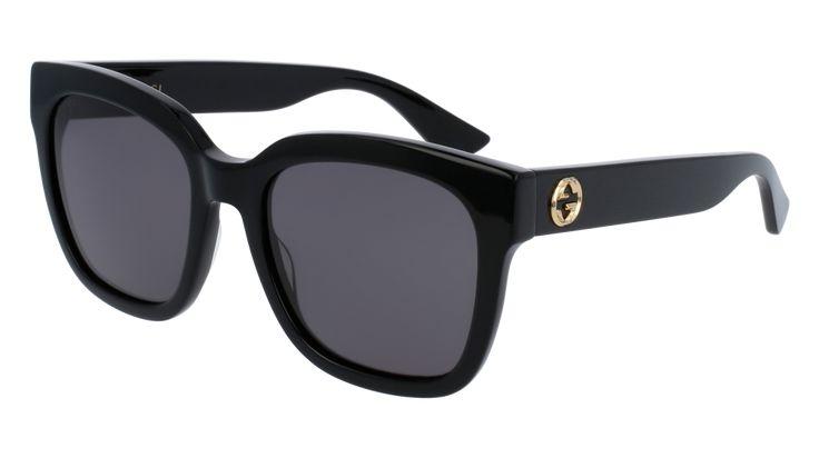 Gucci GG0034S Urban Rectangle Woman Sunglasses