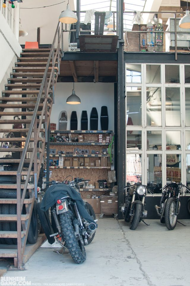1000 ideas about garage loft on pinterest loft house for Motorcycle garage plans