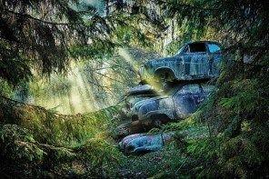 Νεκροταφεία αυτοκινήτων από όλο τον κόσμο
