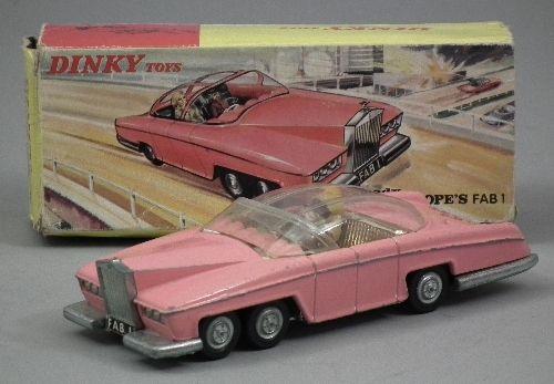 Dinky * Lady Penelope Fab 1 Car Die-Cast196x