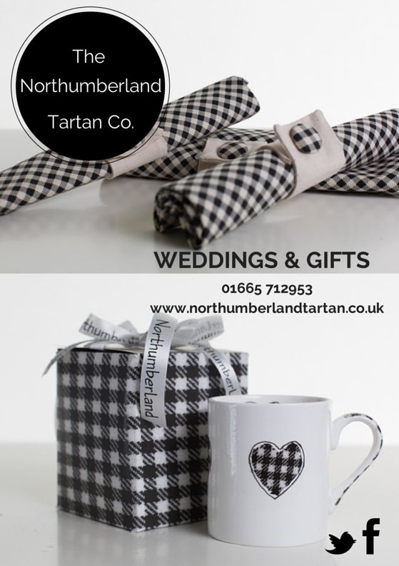 We've been designing flyers for our exhibition stands! #Northumberland Tartan