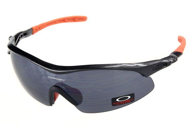 oakley sunglasses black orange  oakley radar range sunglasses black orange frame black lens , cheap wholesale $16 hats malls