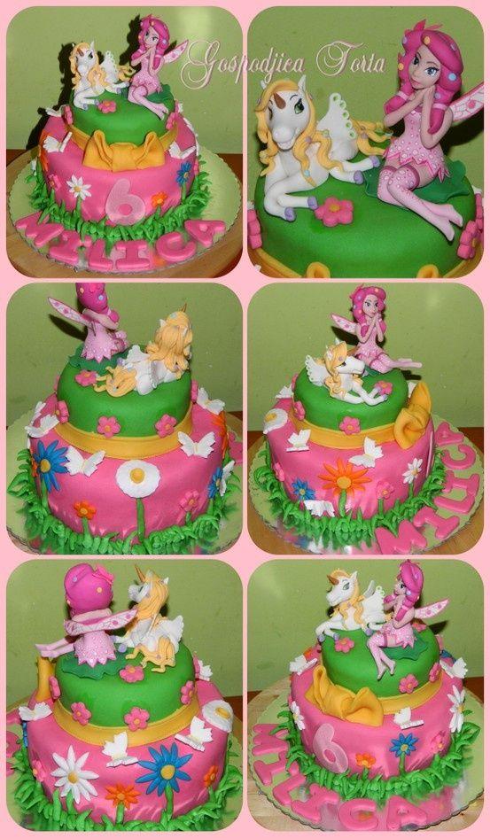 Mia And Me Cake  Cakes Gospodjica Torta cakepins.com