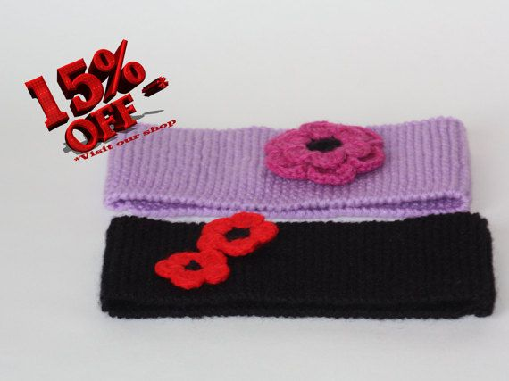 Get ready for autumn/winter in style!! https://www.etsy.com/uk/listing/248091018/winter-handmade-headband-set-of-2-black