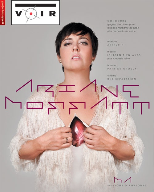Ariane Moffat, a pop music genius. VOIR Quebec.