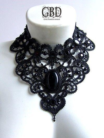 Designs by Russian Jewellery Artist Guzel Bakeeva.  <3  http://guzelbakeeva.ru/category/Necklace/