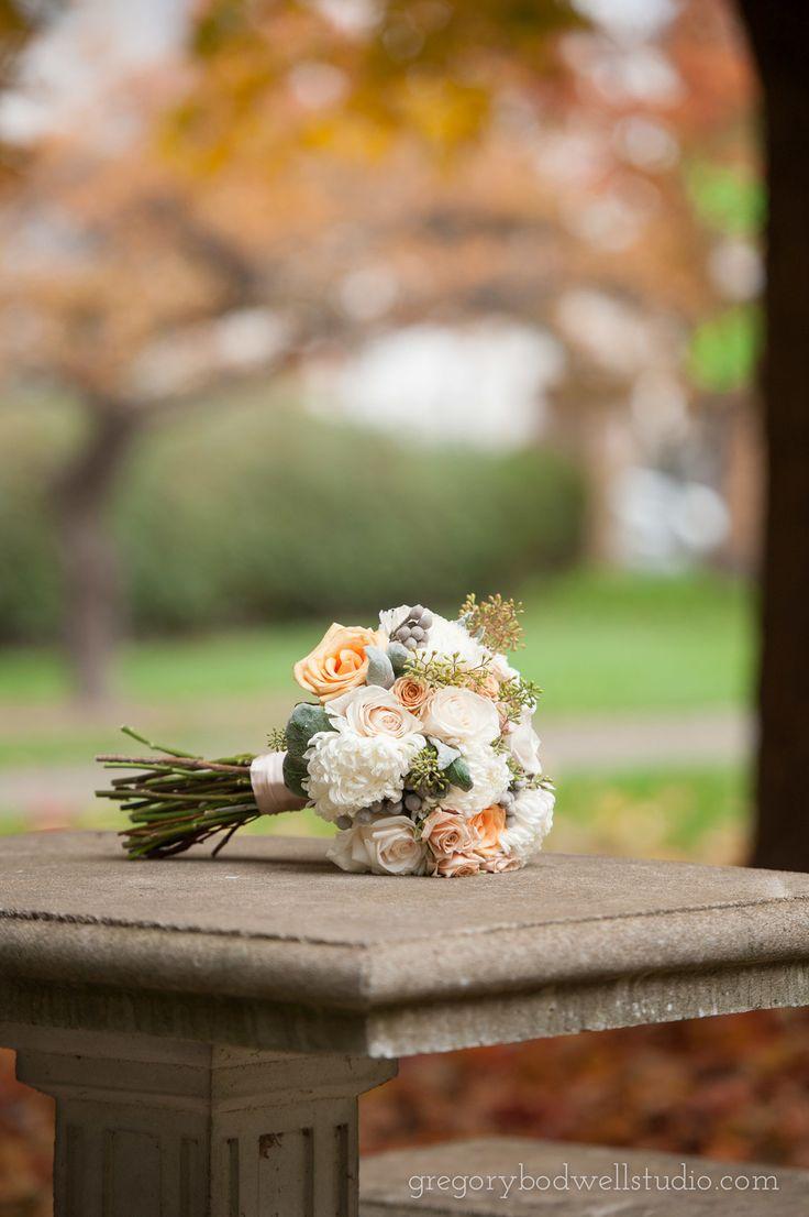 Laura + Michael | bridal bouquet by @AuroraFloraOH | Photo by Gregory Bodwell Studio http://www.gregorybodwellstudio.com/