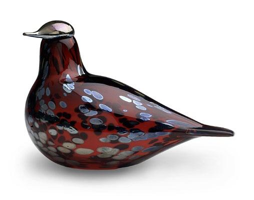 Birds by Oiva Toikka Ruby Bird