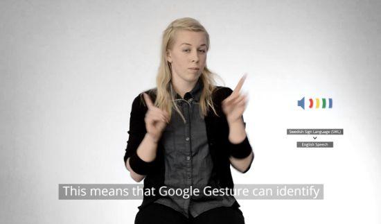 Google Gesture: il traduttore del linguaggio dei segni