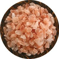 Experimenting with gourmet salts is fun! This is Himalayan Pink,just one of the many different salts you can try.