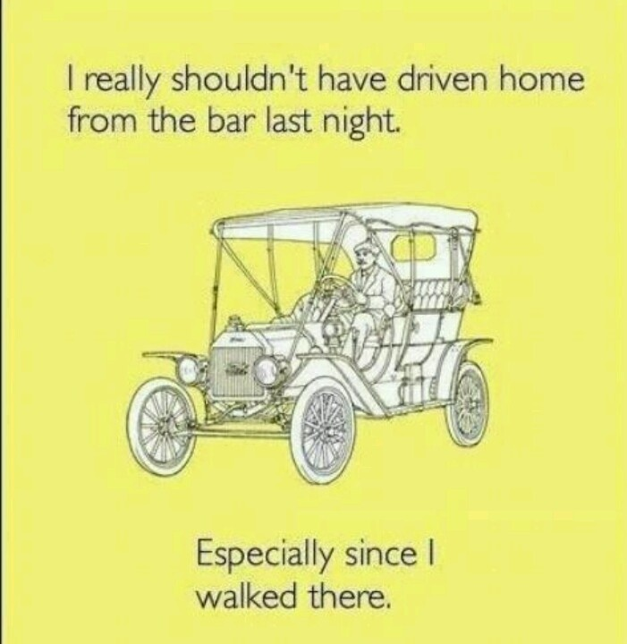 I never drink and drive but this cracked me up for some reason