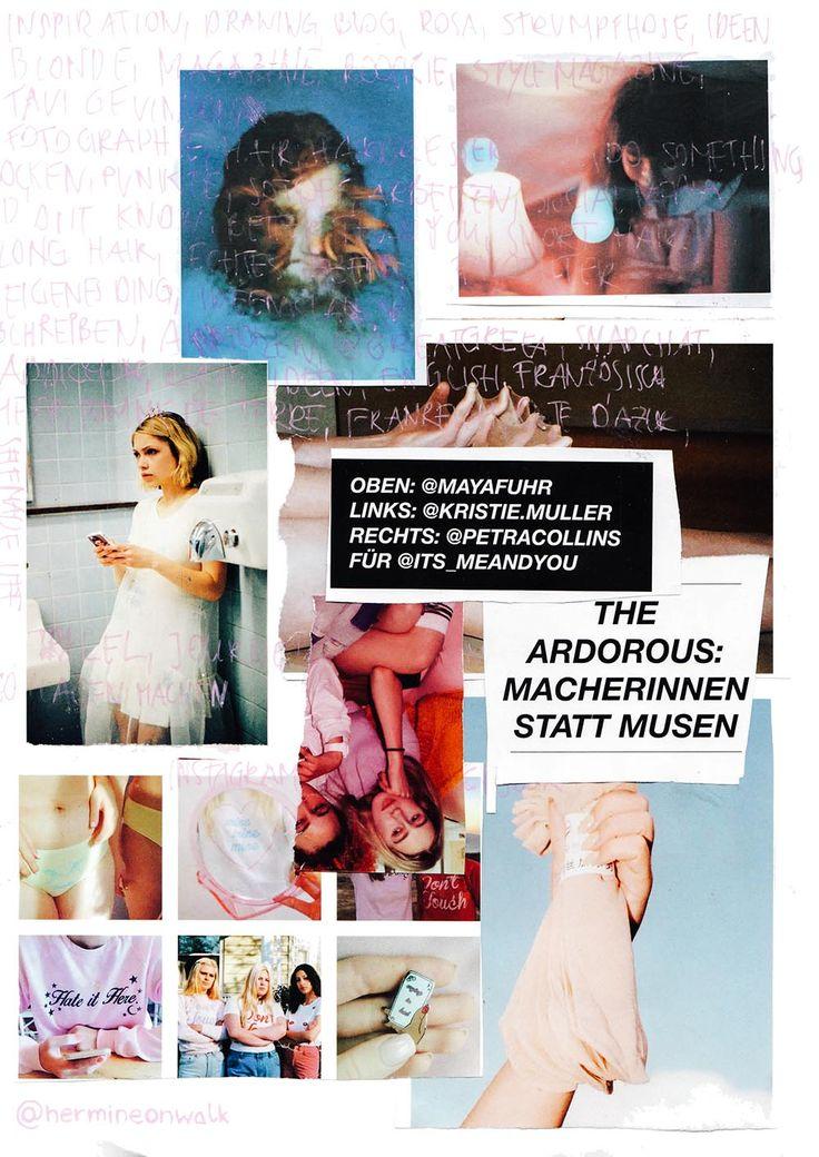 In diesem Post gebe ich dir Tipps und Anregungen, wie du wieder ganz leicht IDEEN für MODE COLLAGEN bekommst. Sie ihn dir an und werde kreativ! | Hermine on walk | Mode Collage | Fashion Collage | Scrapbook | Graphic Design | Fashion Scrapbook