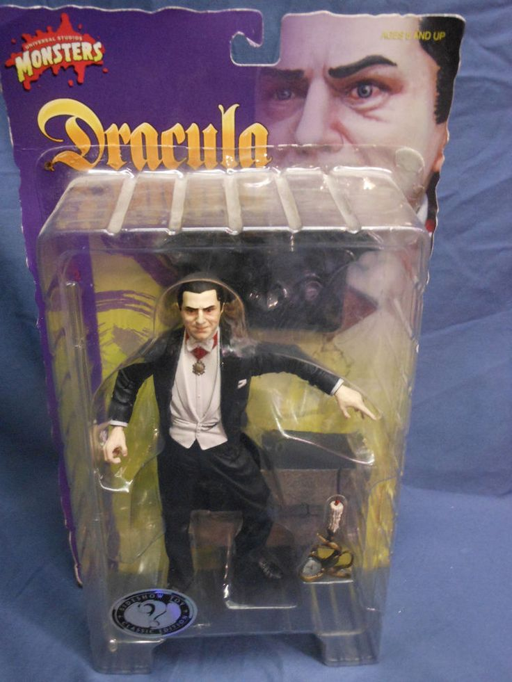 """2001 Sideshow Toys 8"""" DRACULA Action Figure NEW in Package - Rare Final Series! #SideshowCollectibles"""