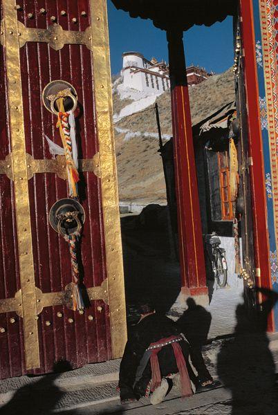 Mark Riboud Tibet, 1985