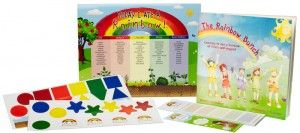 $20 The Today I Ate A Rainbow kit turns healthy eating into a game! Get your kids ASKING to eat a rainbow of fruits & veggies!!