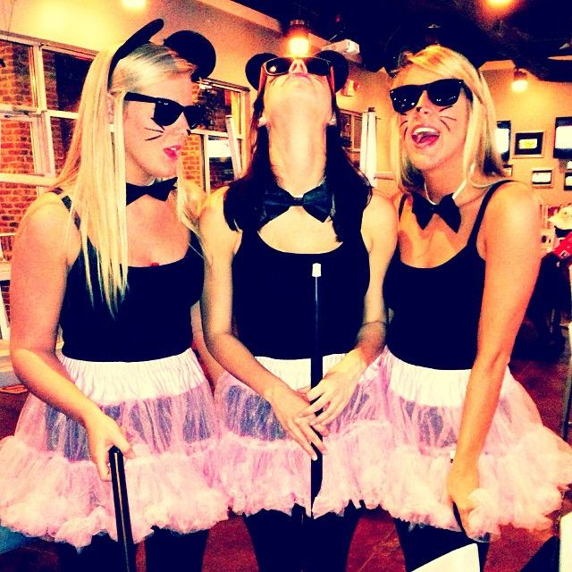 three blind mice shelbytruehl i love this one sorority halloween costumestrio halloween costumestrio - Halloween Costumes Three Girls