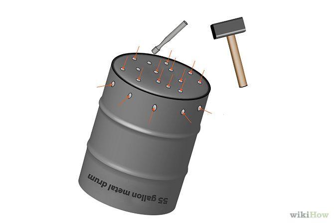 make a burn barrel