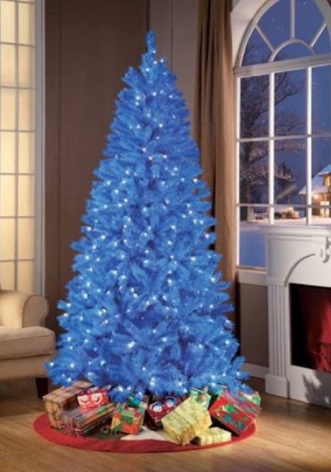 7foot Prelit Christmas Tree Artificial Holiday Trees Lights Stand