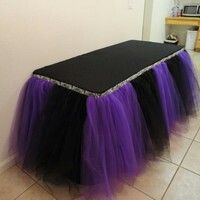 25 Unique Table Skirts Ideas On Pinterest Tulle Table