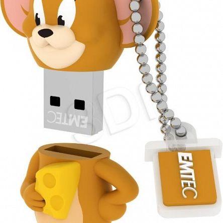 Ogólne:        Emtec Flashdrive 8GB USB 2.0 Jerry pochodzi z oficjalnej polskiej dystrybucji. Jest to oryginalny produkt firmy EMTEC - nowy, nieużywany, sprawny technicznie i fabrycznie zapakowany. Stanowi on wysokiej jakości wyrób, jeden z najnowszych modeli tego producenta w grupie Pamięci FlashDrive. Spełnia, określone przez EMTEC, parametry techniczne przy zachowaniu ustalonych warunków stosowania. Gwarantuje pełną satysfakcję i zadowolenie z jego użytkowania.                 ...