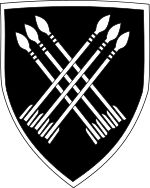 32 Battalion (sometimes nicknamed Buffalo Battalion or Portuguese: Os Terríveis for The Terrible Ones) was a special light infantry battalion of the South African Army, composed of black and white commissioned and enlisted personnel. It was disbanded on 26 March 1993[1] on demand of the African National Congress prior to the South African general election, 1994.[2]