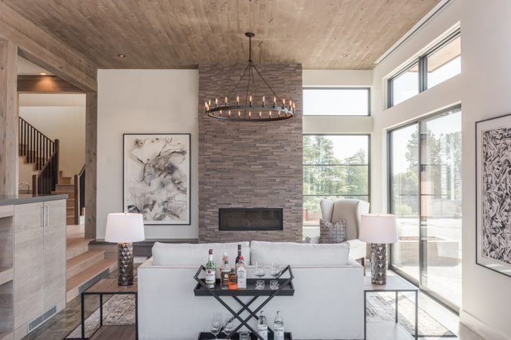A Calm Contemporary Home in Northern California | Fireplace ...