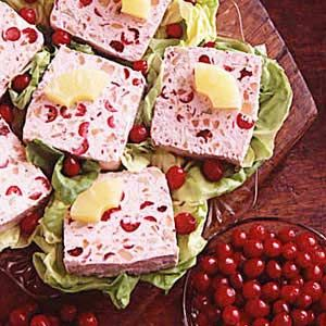 Frozen Cranberry Salad ~ a wonderful side for the holidays