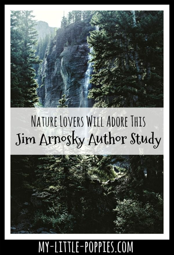 Nature Lovers Will Adore This Jim Arnosky Author Study | My Little Poppies