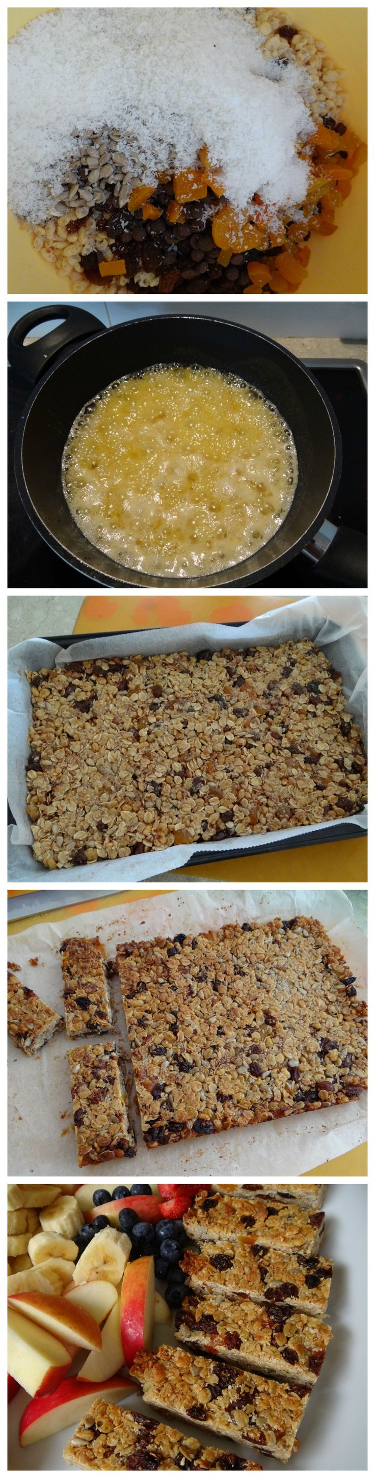muesli slice recipe - easy lunch box recipe