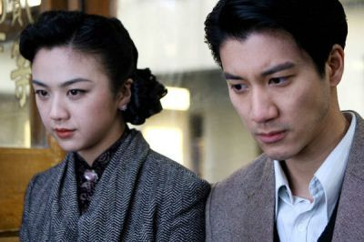 Tang Wei and Wang Leehom, /Lust, Caution/ (2007).
