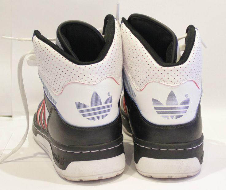 Adidas Attitude XL Trainers G50831 Black White UK 9 Limited Edition RARE | eBay