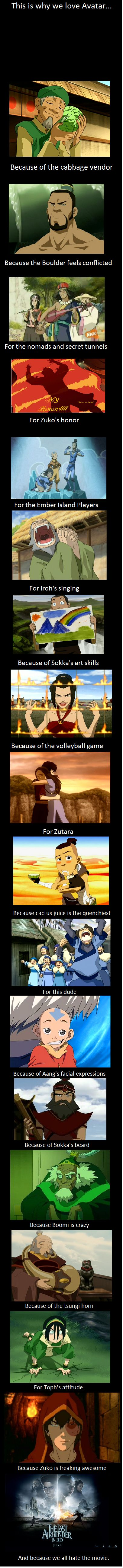 DEFINITELY NOT ZUTARA but otherwise yeah- I so agree with this!!