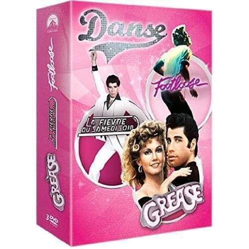 Coffret Danse : La fievre du samedi soir+Footloose + Grease - Coffret 3 DVD NEUF