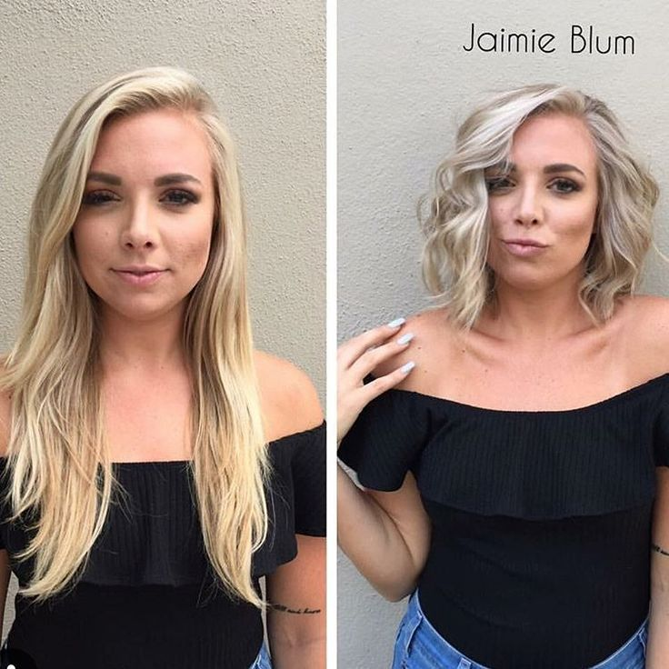 """8,125 Likes, 54 Comments - Short Hair Pixie Cut Boston (@nothingbutpixies) on Instagram: """"Before and after by @jaimieblumhair Long to bob"""""""
