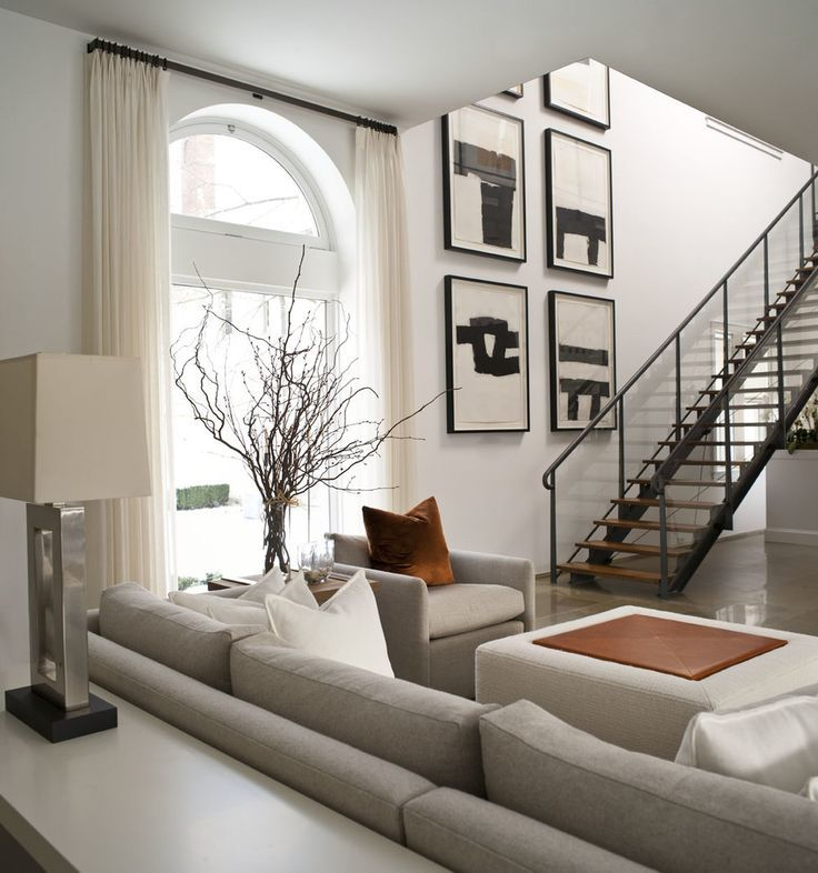 beautiful neutral colored living room with large beige on beautiful modern black white living room inspired id=21780