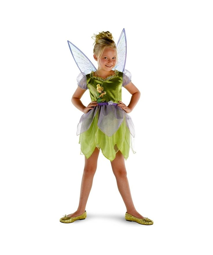 how to make tinkerbell costume for kids
